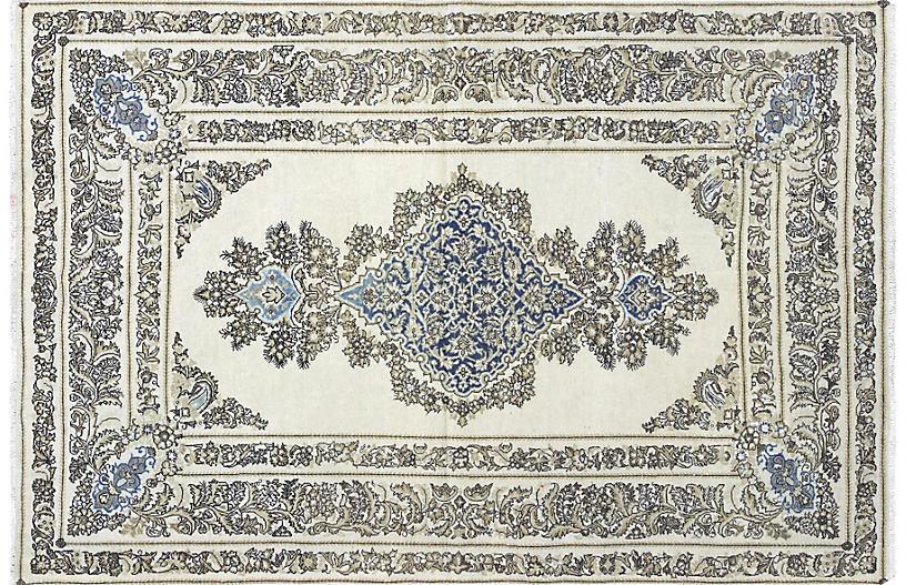 1940s Persian Tabriz Rug, 4'6