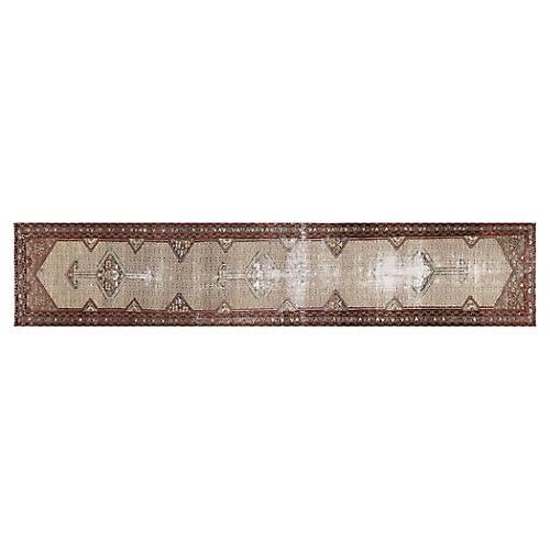 "1920s Persian Melayer Rug, 3'5"" x 16'3"""