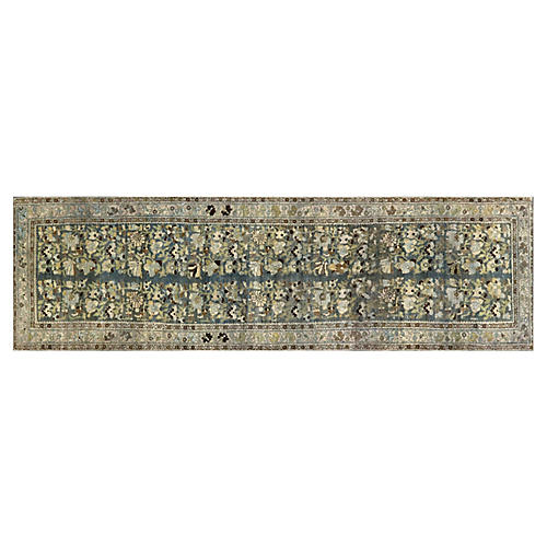 "1920s Persian Malayer Rug, 3'10"" x 12'7"""