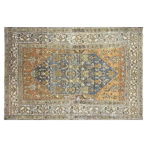 "1920s Persian Malayer Rug, 4'2"" x 6'3"""