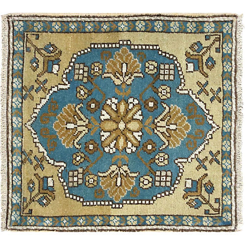 1960s Turkish Yastik, 2' x 2'1""