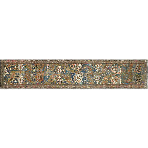 "1920s Persian Malayer Runner, 2'11"" x15'"