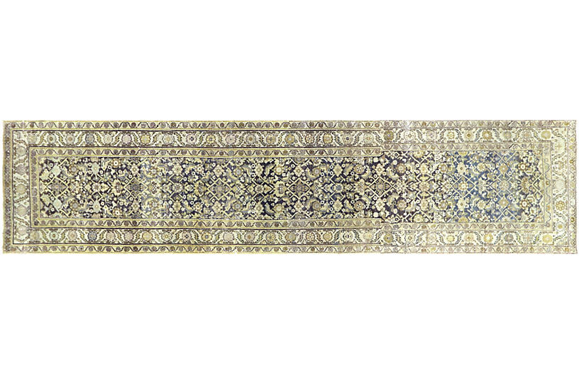 1920s Persian Malayer Rug, 3'4