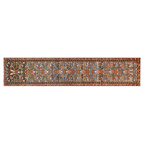 "1930s Persian Malayer Runner, 2'5""x15'5"""