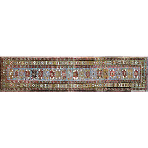 "1920s Persian Malayer Runner, 3'1"" x 13'"