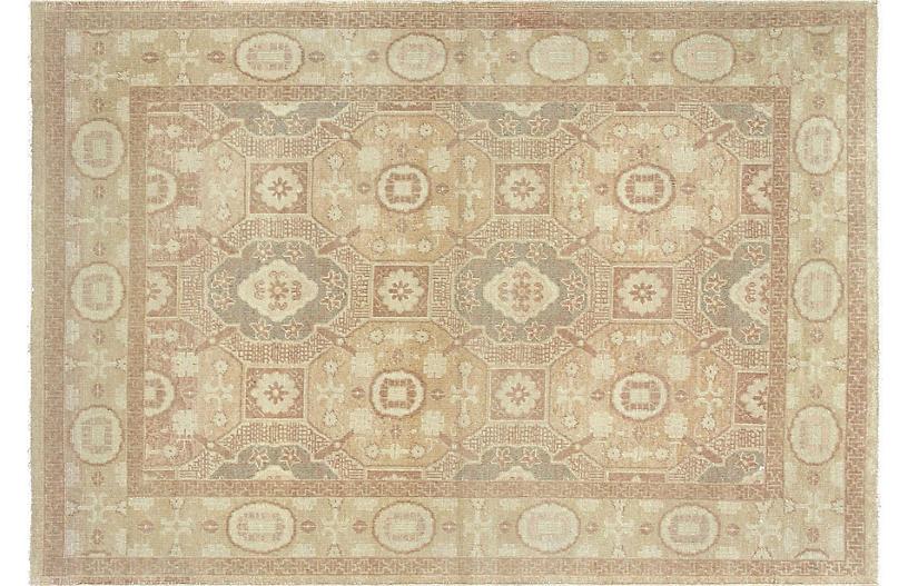 1980s Egyptian Khotan Rug, 5' x 7'3