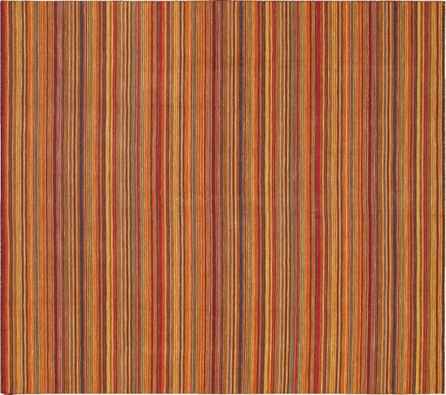 Striped Kilim, 8' x 10'