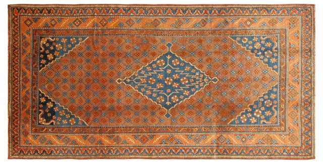 "Antique Khotan, 5'6"" x 11'3"""