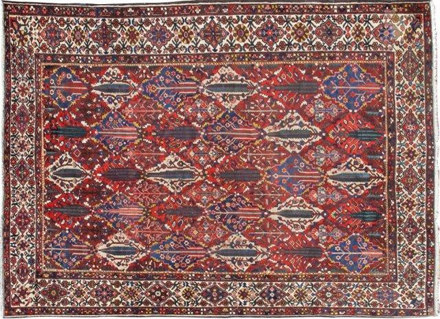 "Antique Garden Bakhtiari, 11'x14'6"""