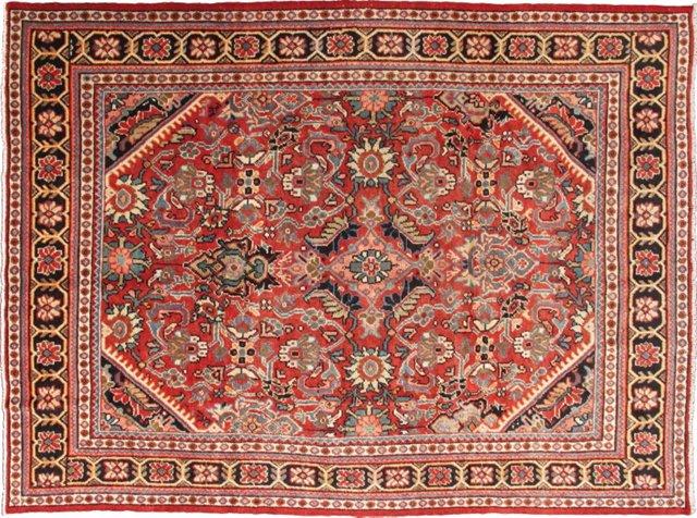 Persian Mahal Carpet, 7'3 x 10'3