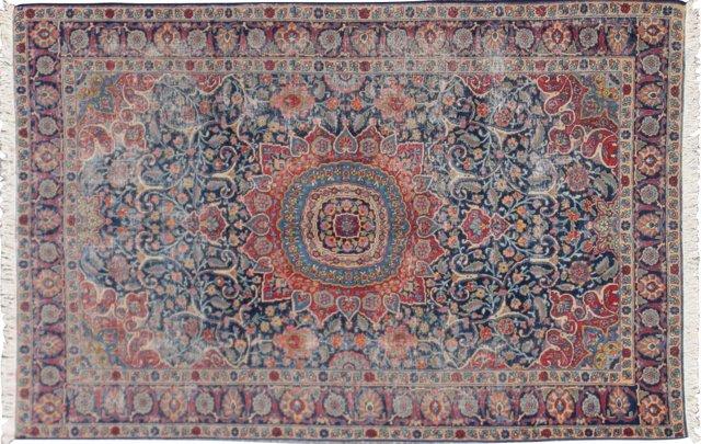 """Semi-Antique Tabriz, 6'11"""" x 10'5"""""""