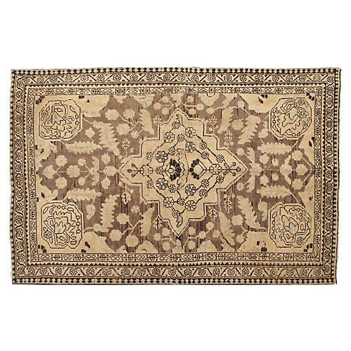 "Vintage Persian Rug, 4'3"" x 6'9"""