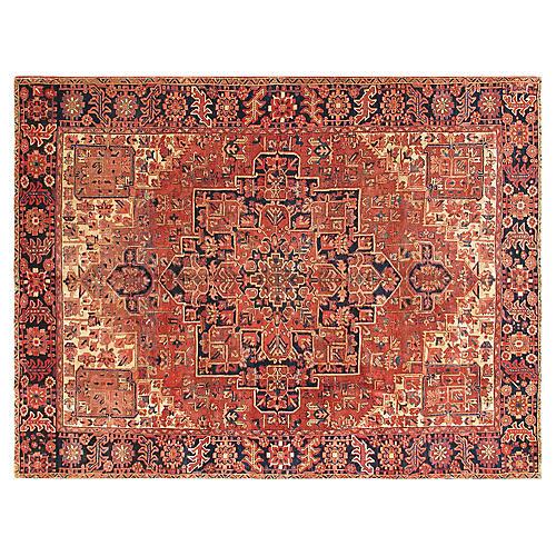 "Persian Heriz Carpet, 9'7"" x 12'7"""