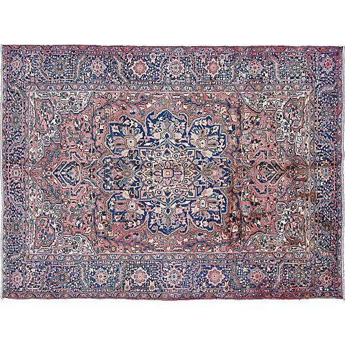 "Persain Heriz Carpet, 8'5"" x 12'2"""