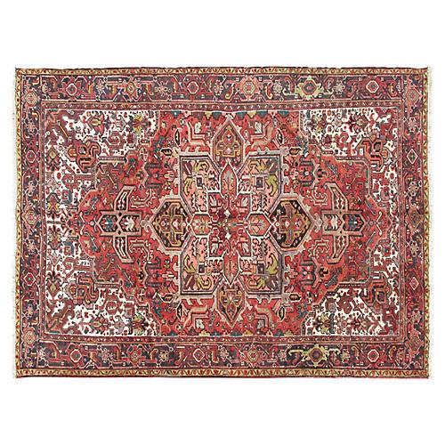 "Persian Heriz Rug, 8' x 10'8"""