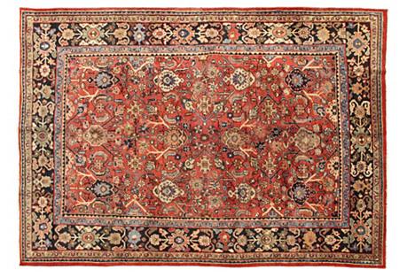 Antique Persian Mahal   6'8 x 9'10