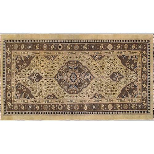 """Antique Persian Serab Rug, 3'1"""" x 5'6"""""""