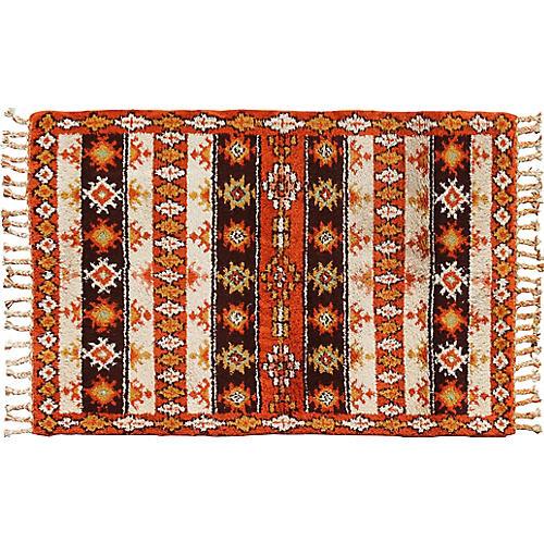 Moroccan Rug, 6' x 9'