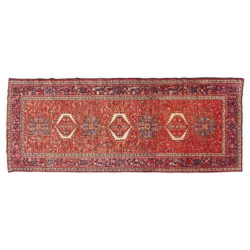 """Persian Rug, 5'3"""" x 12'4"""""""