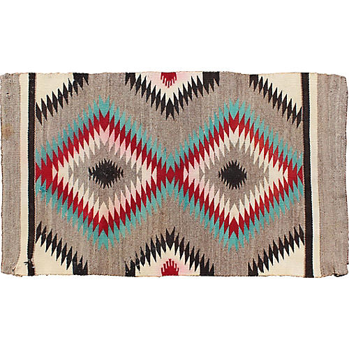 Vintage Navajo Rug, 2'2 x 3'10