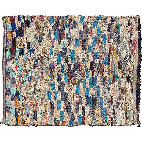 Vintage Moroccan Rug, 5'4 x 6'7