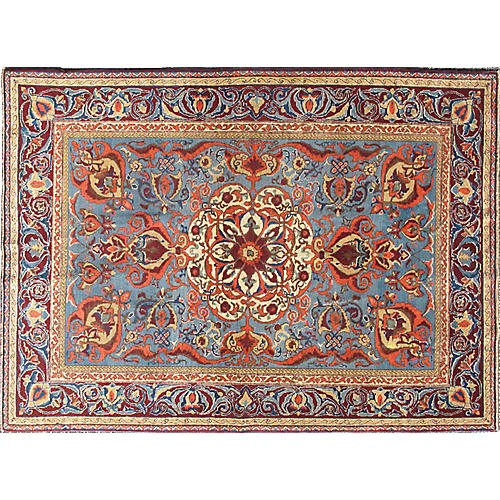 Turkish Sivas Rug, 4'6 x 6'4
