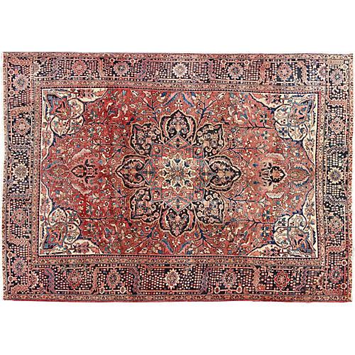 Persian Heriz Carpet, 10' x 13'5