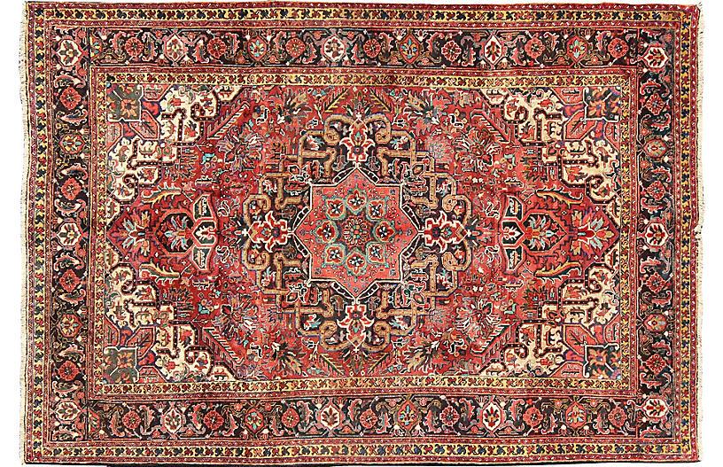 Persian Heriz Rug, 8' x 11'1