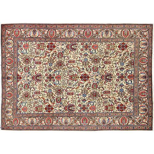 "Persian Tabriz Carpet, 8'4"" x 11'8"""