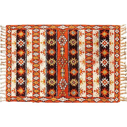 Vintage Moroccan Rug, 6' x 9'