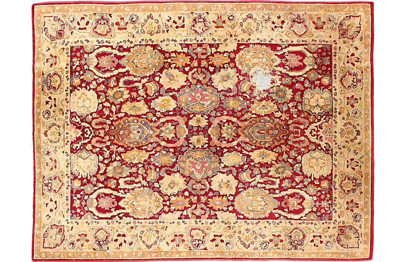 Agra-Style Rug, 6'7 x 9'5