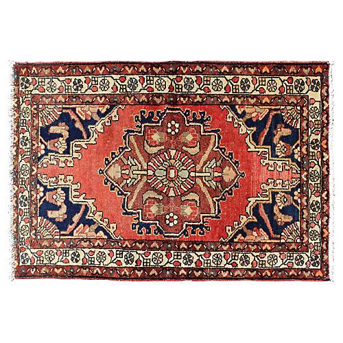 """Persian Rug, 2'8"""" x 4'1"""""""