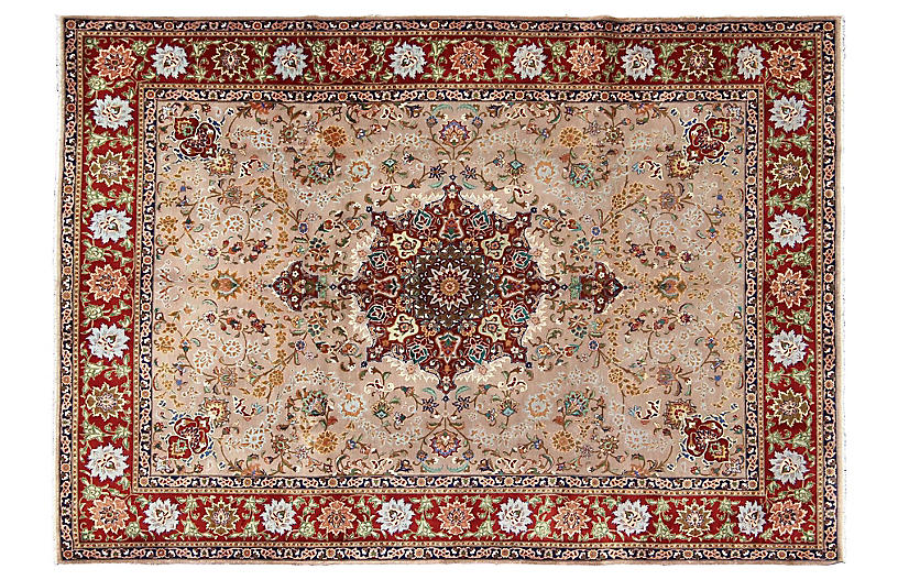 Fine Persian Tabriz Rug, 8'2