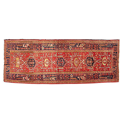 Persian Runner, 3'7 x 10'