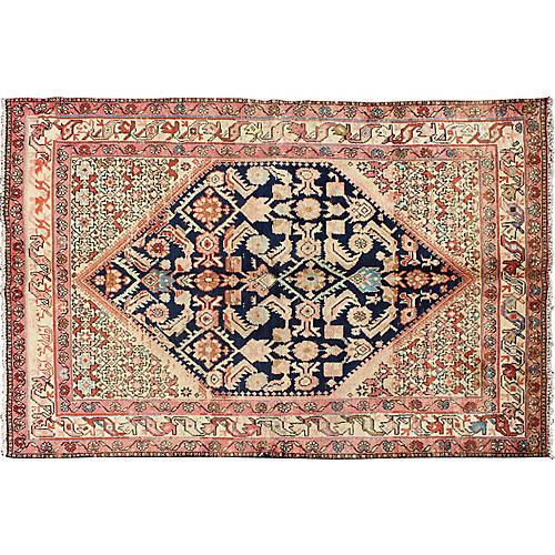 "Antique Persian Malayer Rug, 4'3"" x 6'8"""