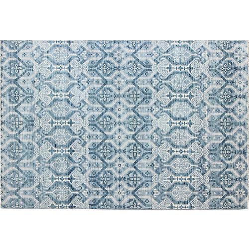 "Blue Carpet, 9'10"" x 13'9"""