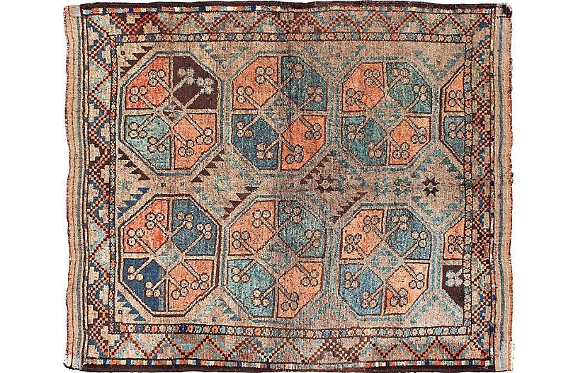Antique Turkmen Rug, 3'10