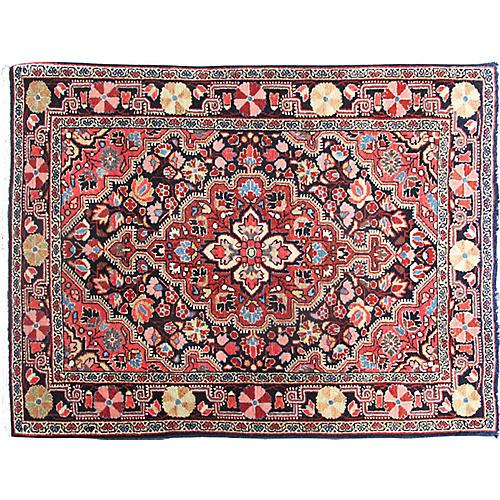 "Antique Persian Sarouk Rug, 2'2"" x 2'10"""