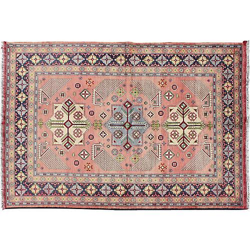 "Vintage Persian Afshar Rug, 3'11"" x 6'"
