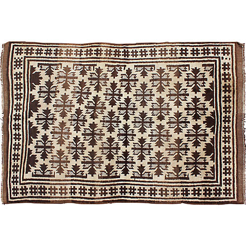 "Moroccan Rug, 4'10"" x 7'5"""