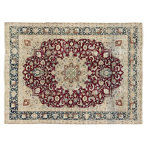 """Antique Persian Carpet, 9'9"""" x 12'6"""""""