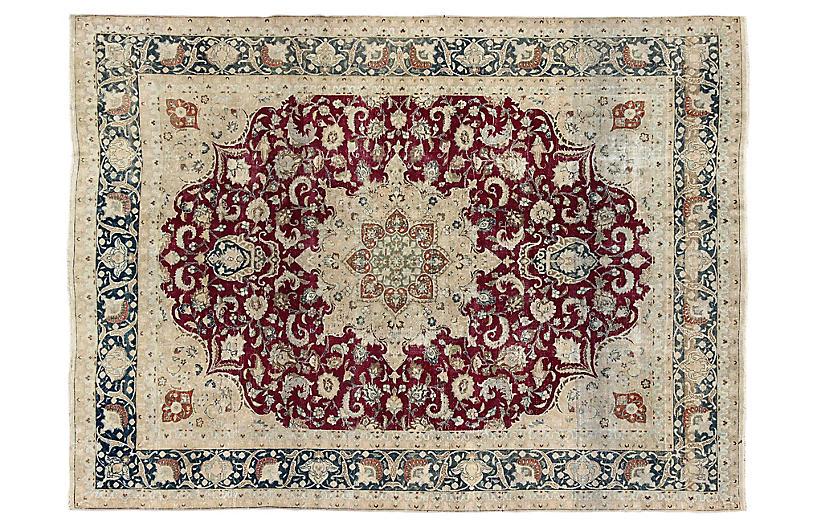 Antique Persian Carpet, 9'9