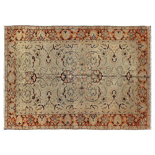 Antique Fine Weave Sivas Rug, 3'10 x 5'5
