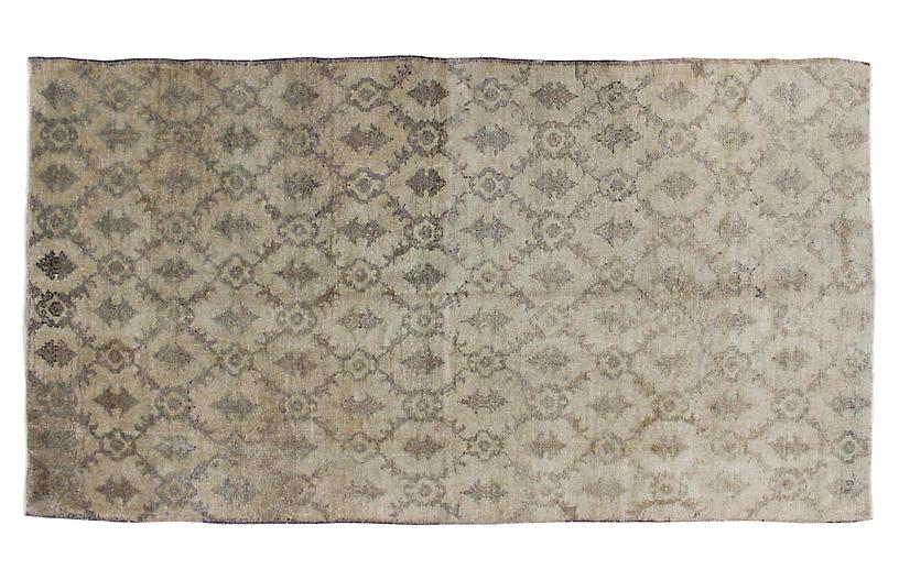 Taupe & Gray Turkish Rug, 4'3