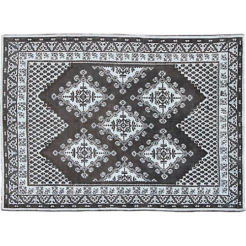 """Moroccan-Style Rug, 8'8"""" x 11'9"""""""