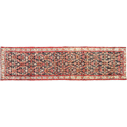 "Persian Malayer Runner, 4'3"" x 16'"