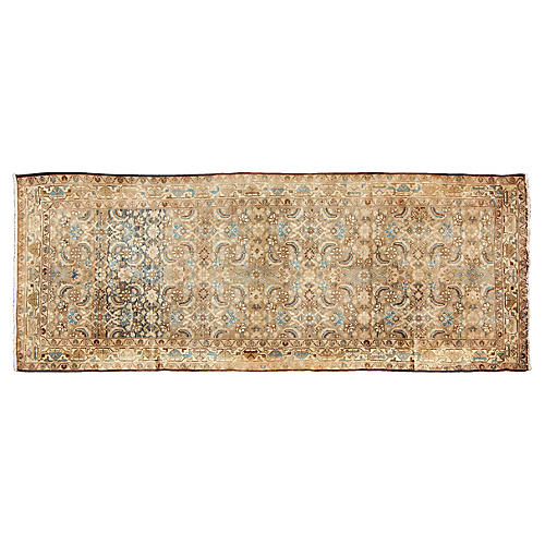 "Persian Malayer Rug, 3'7"" x 9'9"""