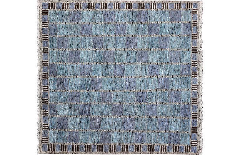 Modern Swedish Carpet, 12' x 12'