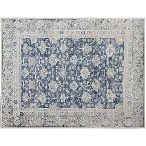Blue Khotan Rug, 8' x 10'