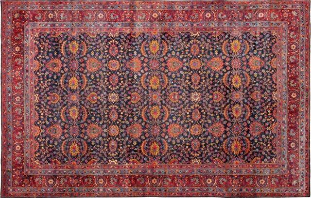 """Antique Persian Carpet, 10'10"""" x 16'4"""""""